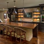 brown countertops Signature Cabinetry - Columbus, Ohio