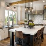 white kitchen counters and cabinets Signature Cabinetry - Columbus, Ohio