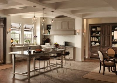 white and brown cabinets Signature Cabinetry - Columbus, Ohio