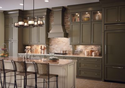 olive cabinet Signature Cabinetry - Columbus, Ohio
