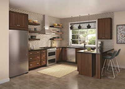 brown cabinetry Signature Cabinetry - Columbus, Ohio