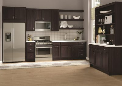 brown cabinets Signature Cabinetry - Columbus, Ohio